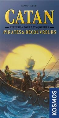 Catan: Pirates & Découvreurs - 5 et 6 Joueurs