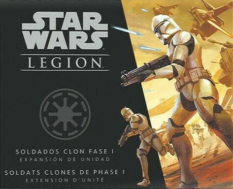 Star Wars: Légion - Soldats Clones de Phase I