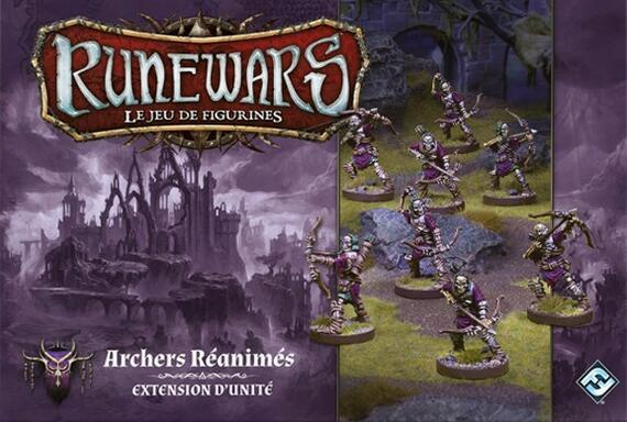 Runewars: Le Jeu de Figurines - Archers Réanimés