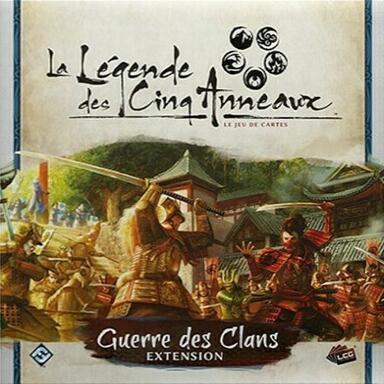 La Légende des Cinq Anneaux: Le Jeu de Cartes - Guerre des Clans