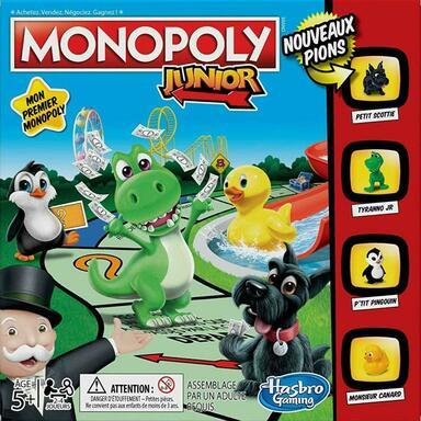 Monopoly: Junior - Nouveaux Pions