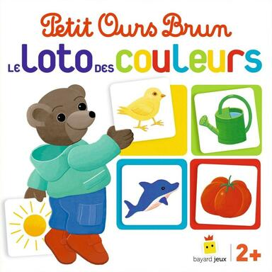 Petit Ours Brun: Le Loto des Couleurs