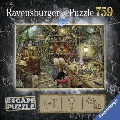 Escape Puzzle Cuisine De Sorciere 2018 Board Games 1jour
