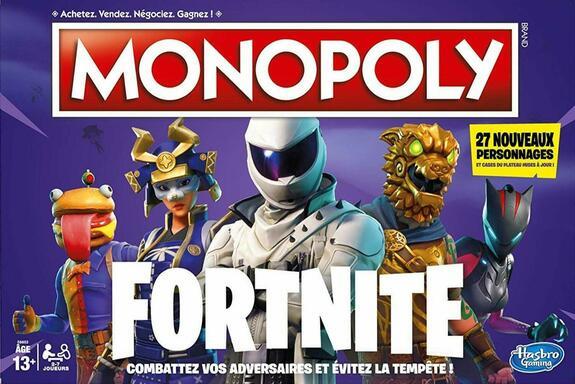 Monopoly: Fortnite - 27 Nouveaux Personnages