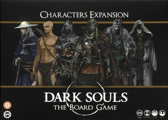Dark Souls: The Board Game - Characters