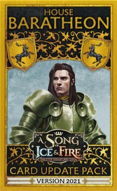 Le Trône de Fer: Le Jeu de Figurines - Maison Baratheon - Paquet de Mise à Jour - Edition 2021