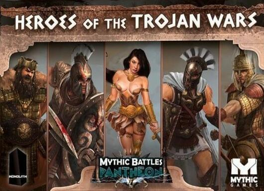 Mythic Battles: Pantheon - Heroes of the Trojan Wars
