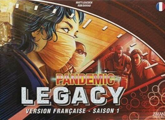 Pandemic Legacy: Saison 1 (Rouge)