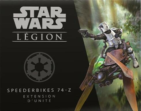 Star Wars: Légion - Speederbikes 74-Z