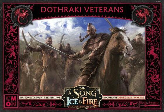 Le Trône de Fer: Le Jeu de Figurines - Vétérans Dothraki