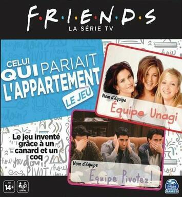 Friends: La Série TV - Celui qui Pariait l'Appartement