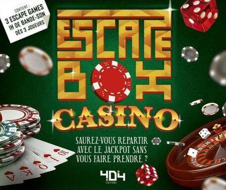 Escape Box: Casino