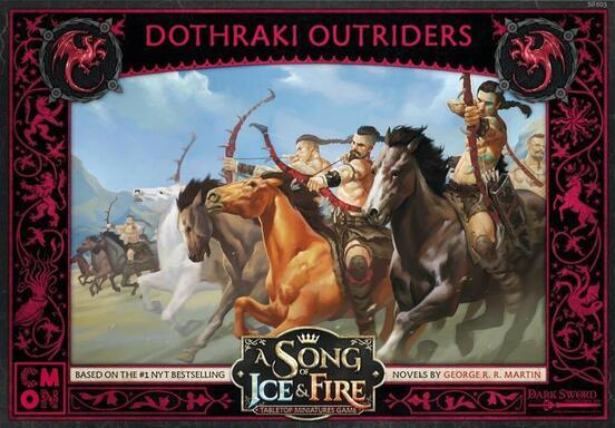 Le Trône de Fer: Le Jeu de Figurines - Cavaliers Dothraki