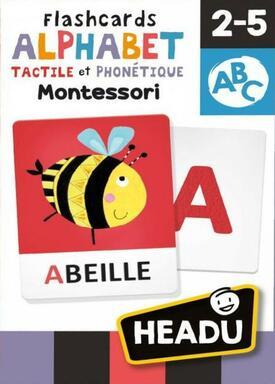 Alphabet Tactile et Phonétique: Montessori