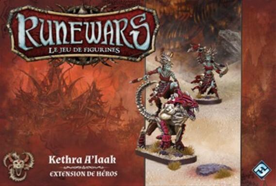 Runewars: Le Jeu de Figurines - Kethra A'laak