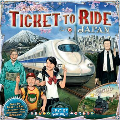 Les Aventuriers du Rail: Map Collection 7 - Japan & Italy