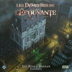Les Demeures de l'Épouvante: Seconde Édition - Les Rues d'Arkham