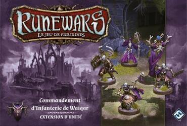 Runewars: Le Jeu de Figurines - Commandement d'Infanterie de Waiqar