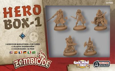 Zombicide: Black Plague - Hero Box 1
