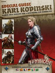 Zombicide: Black Plague - Special Guest - Karl Kopinski