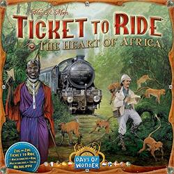 Ticket to Ride: Map Collection 3 - The Heart of Africa
