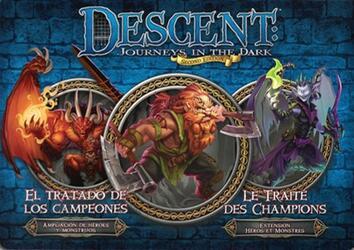 Descent: Voyages Dans les Ténèbres (Seconde Édition) - Le Traité des Champions