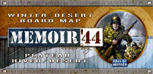 Memoir '44: Winter/Desert Board Map
