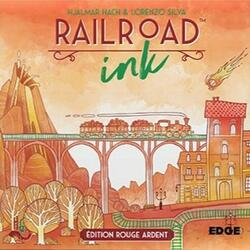 Railroad Ink: Rouge Ardent