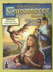 Carcassonne: Extension 3 - Princesse & Dragon