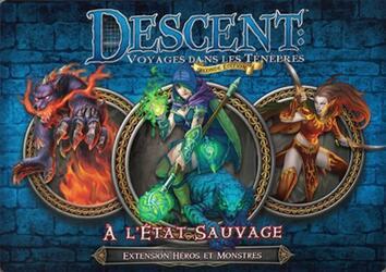 Descent: Voyages Dans les Ténèbres (Seconde Édition) - À l'État Sauvage
