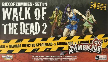 Zombicide: Box of Zombies Set #4 - Walk of the Dead 2