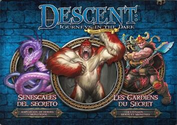 Descent: Voyages Dans les Ténèbres (Seconde Édition) - Les Gardiens du Secret