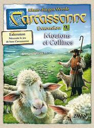 Carcassonne: Extension 9 - Moutons et Collines