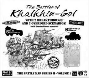 Memoir '44: The Battle Map 2 - Volume 1 - The Battles of Khalkhin-Gol