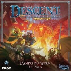Descent: Voyages Dans les Ténèbres (Seconde Édition) - L'Antre du Wyrm