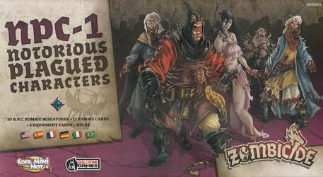 Zombicide: Black Plague - NPC-1 - Notorious Plagued Characters