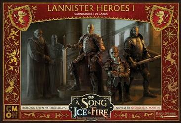 Le Trône de Fer: Le Jeu de Figurines - Héros Lannister I
