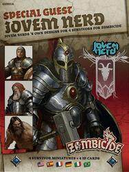 Zombicide: Black Plague - Special Guest - Jovem Nerd