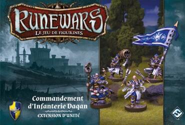 Runewars: Le Jeu de Figurines - Commandement d'Infanterie Daqan