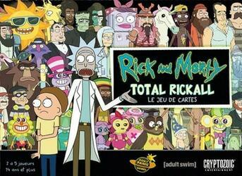 Rick and Morty: Total Rickall - Le Jeu de Cartes