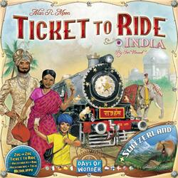 Ticket to Ride: Map Collection 2 - India & Switzerland