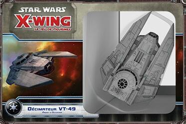 Star Wars: X-Wing - Le Jeu de Figurines - Décimateur VT-49