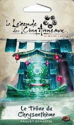 La Légende des Cinq Anneaux: Le Jeu de Cartes - Le Trône du Chrysanthème