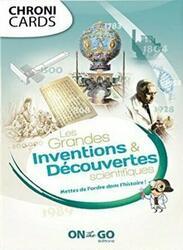 ChroniCards: Les Grandes Inventions & Découvertes Scientifiques