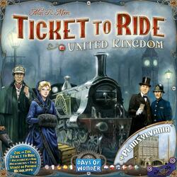 Ticket to Ride: Map Collection 5 - United Kingdom & Pennsylvania